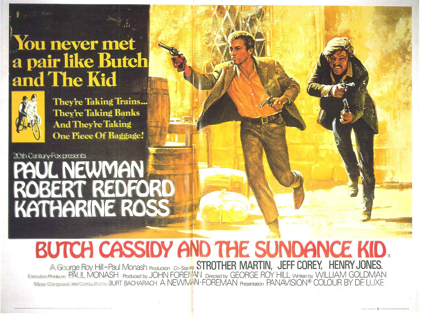 Butch cassidy and the sundance kid?