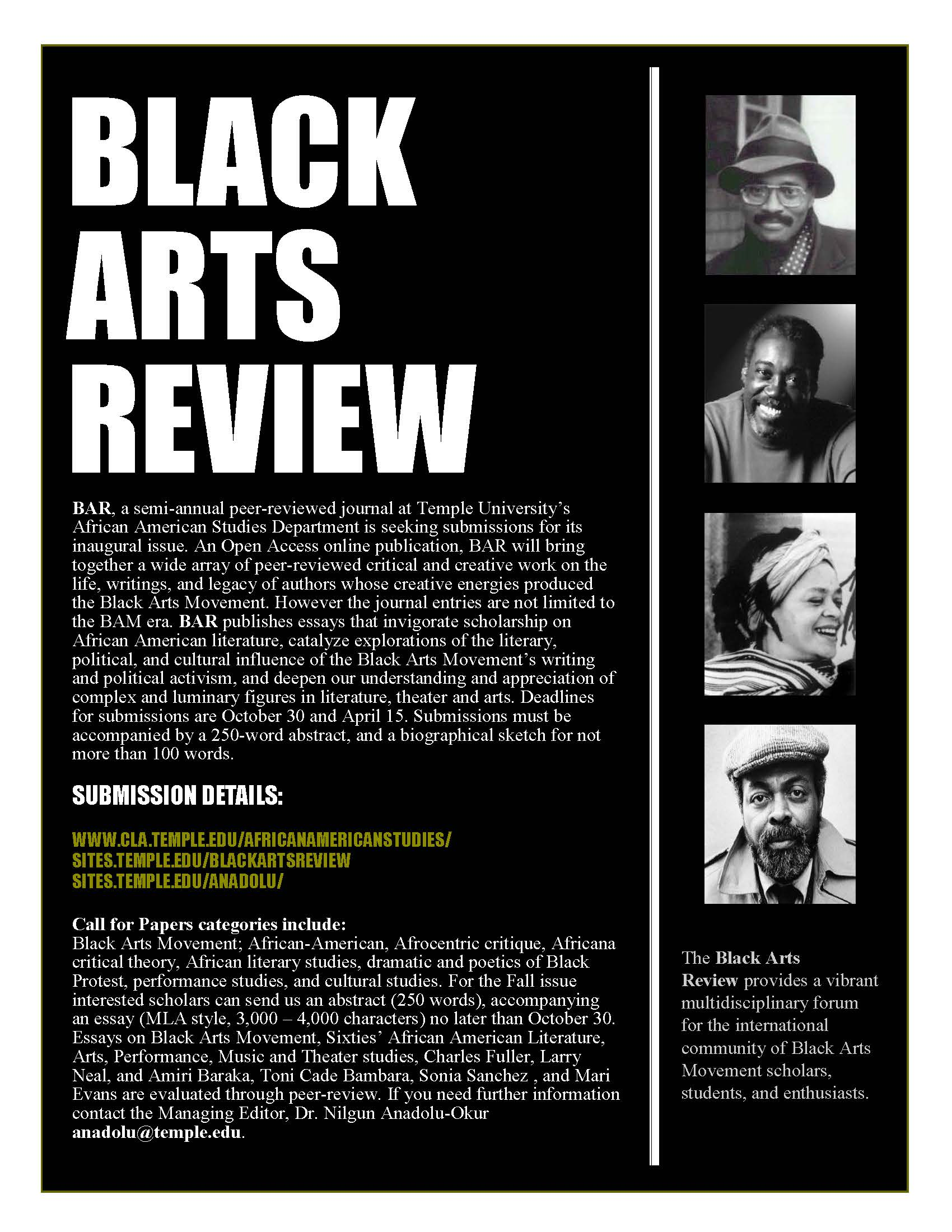 Black arts review