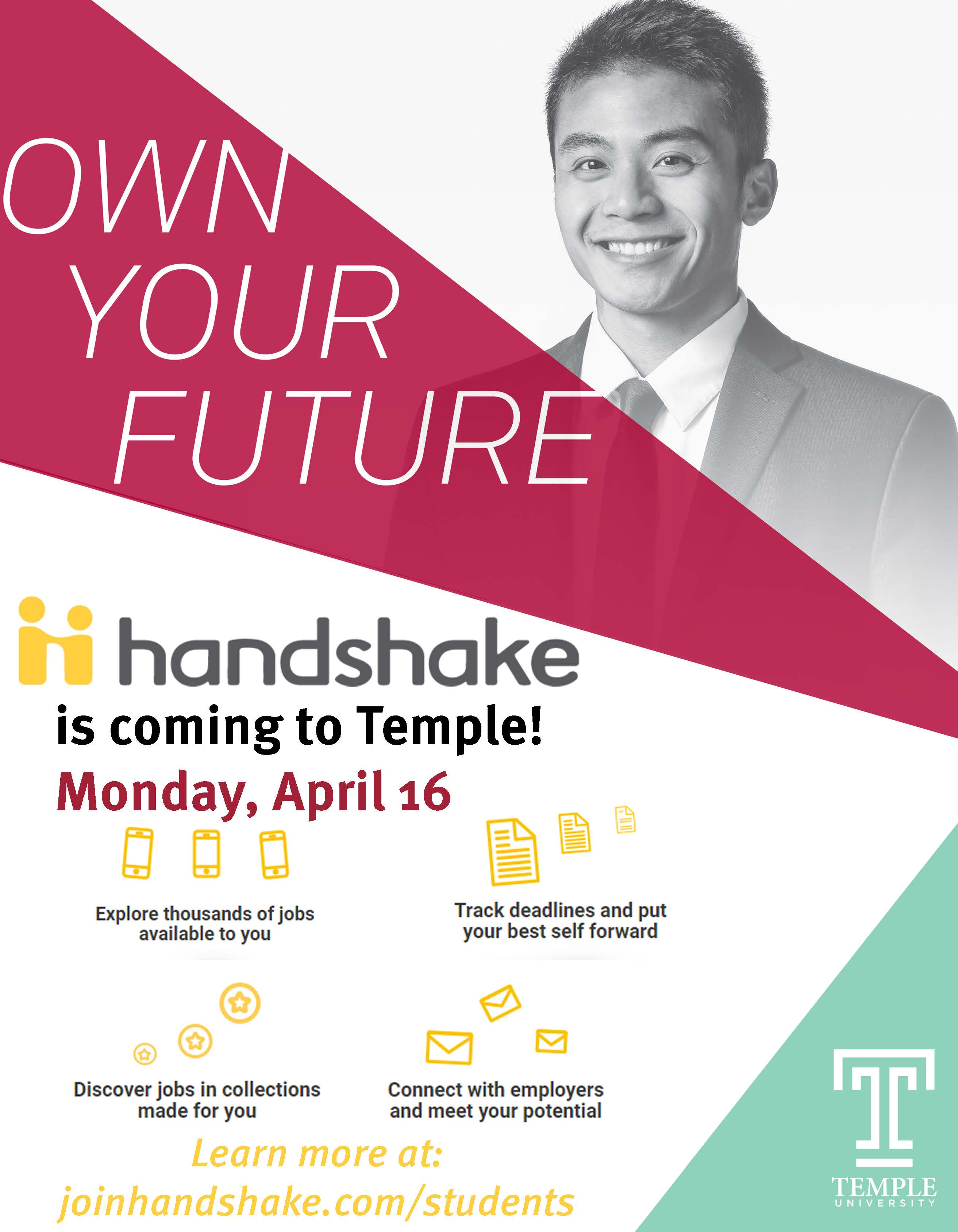 Handshake | Career and Student Development & Special Events