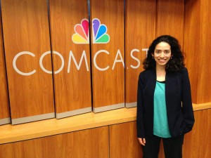 Michelle Saul-Yamasaki - Comcast Internship - Studio C