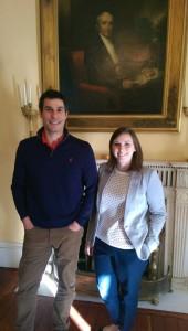 Sarah Sutton and Jonathan Burton