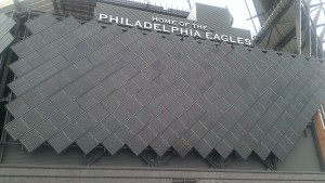 11000 solar panels affixed to Lincoln Financial Field