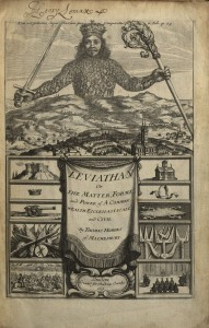 Frontispiece from Hobbes' Leviathan