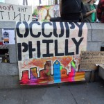 Occupy Philly banner