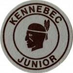 Kennebec Junior felt patch, undated