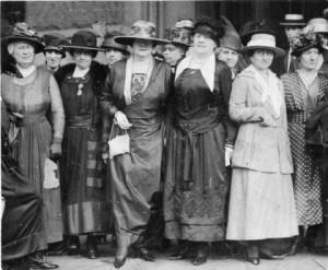 1919 suffragettes