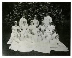 Jewish Hospital staff, 1896