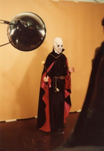Cosplayer at the Denvention convention (39th World Science Fiction Convention), 1981