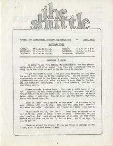 The Shuttle newsletter