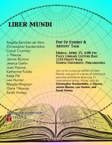 Liber Mundi event flye