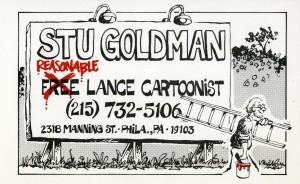 Goldman business card