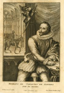 Cervantes Portrait, London, 1738