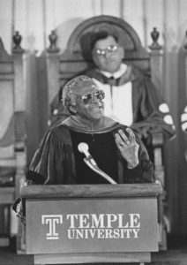 Archbishop Tutu at Temple, January 14, 1986