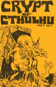 Cover of Crypt of Cthulhu