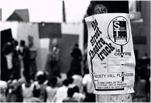 Street Theatre flyer, 1969