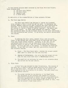 Program sheet