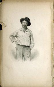 Walt Whitman, 1856