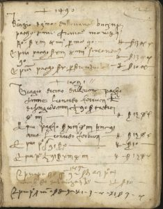 Florentine Grain Dealer Account Book, 1466-1524.