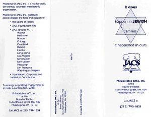JACS pamphlet