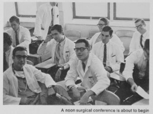 Medical students, 1970