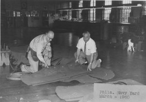 union workers making gun covers