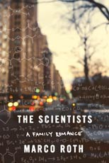 Book cover depicting a city scene overlaid with multiple chemical formulas