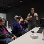 Jordan demonstrates VR