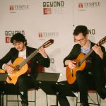 Classical guitar music in Paley Library