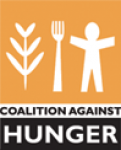Coalition Against Hunger Logo.