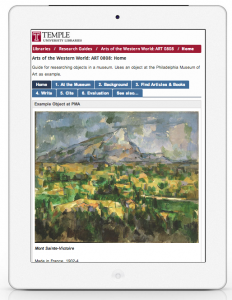Arts of the Western World course guide by Art Librarian, Jill Luedke