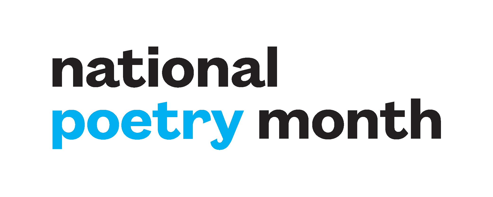 Image result for national poetry month 2018 banner