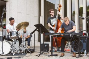 Coltrane Festival at the Bell Tower, photo courtesy of Ryan S. Brandenberg