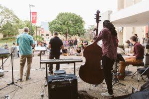 Coltrane Festival at the Bell Tower, photo courtesy of Ryan S. Brandenberg