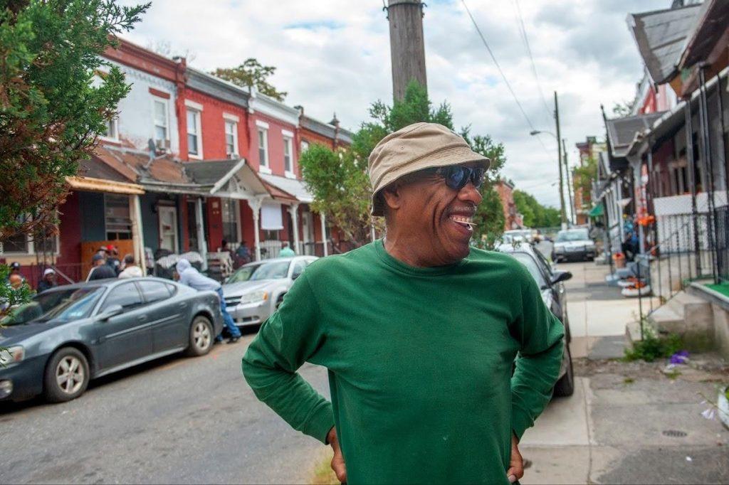 Photo of man in North Philadelphia