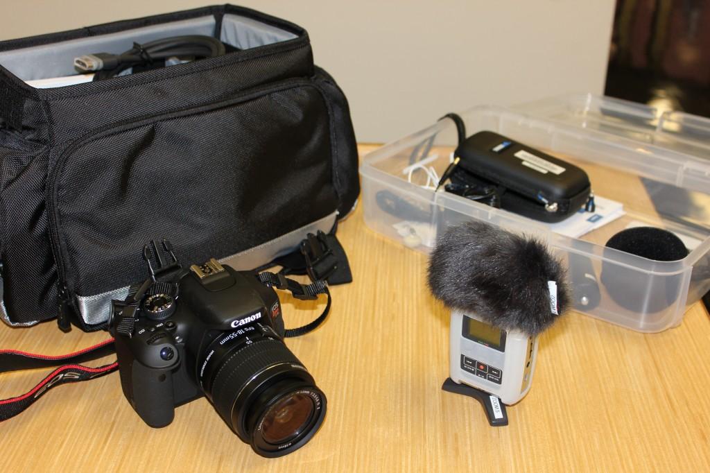 Camera and Audio recorder