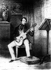 Matteo Carcassi, guitar virtuoso and pedagogue