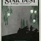 sheet music cover Star Dust