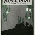 sheet music cover Star Dust