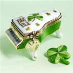 Porcelain Shamrock piano