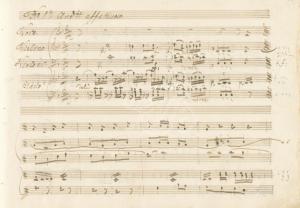 Iris Songs Manuscript