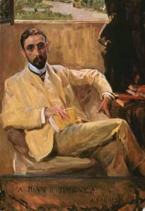 Painting of Jimenez.
