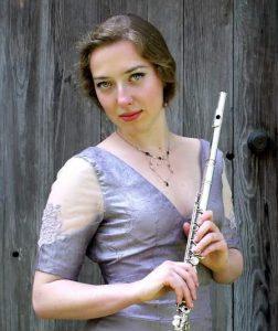 Chelsea Meynig, flutist.