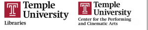 TU Libraries and Center for Performing Arts Logos
