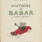 Title page of Histoire de Babar
