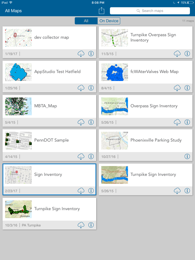Gathering Data in the Field with the Collector for ArcGIS
