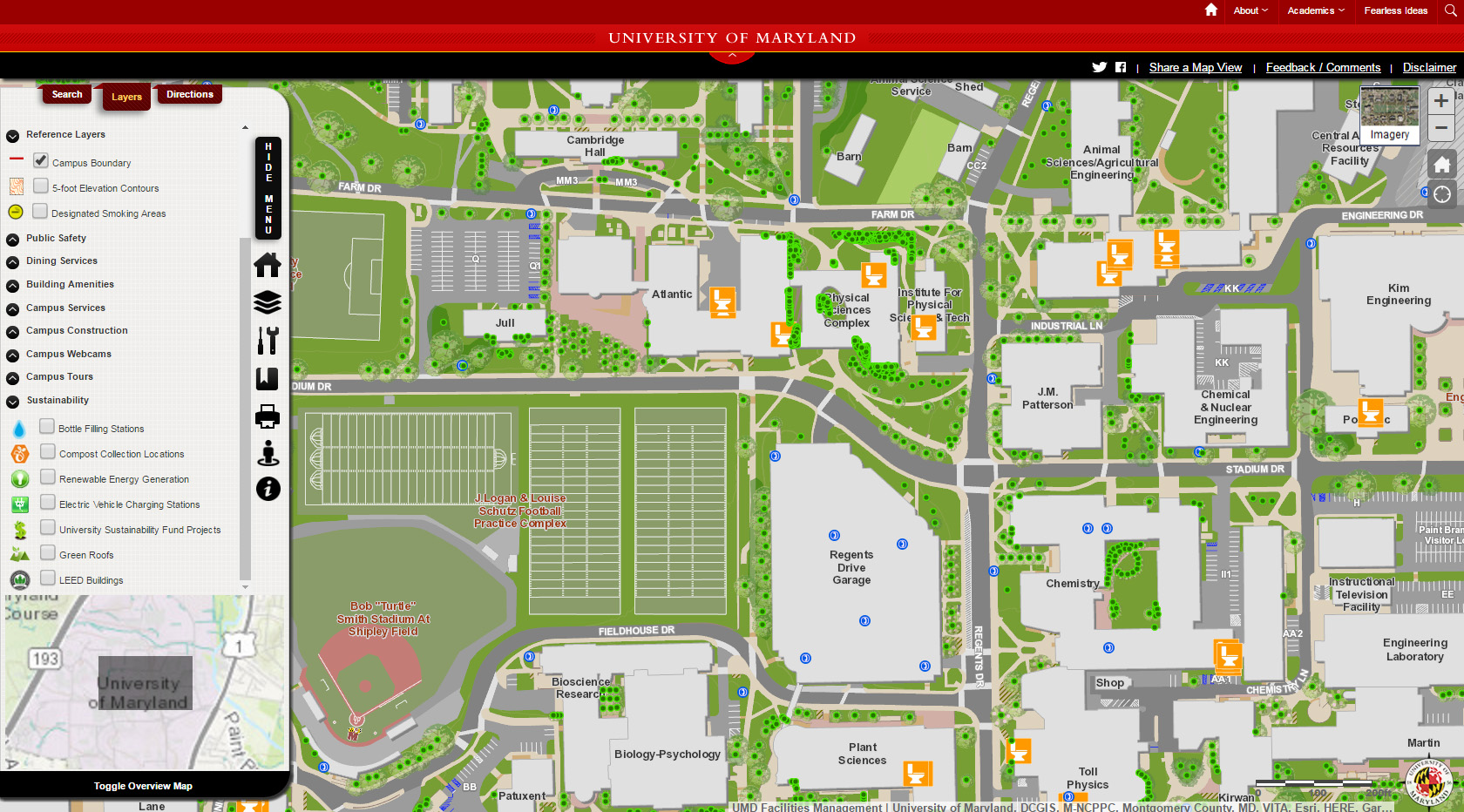 Temple University Map Excellent Examples of University Campus Maps | Temple PSM in GIS Temple University Map
