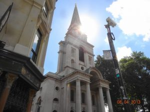 Church near Old SPitalfields