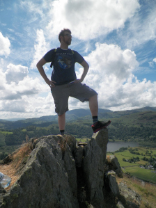 Josh in Lake District 1