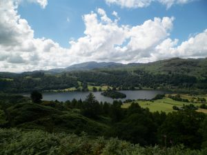 Lake District from Josh