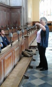 Sue at Stratford Guildhall Chapel